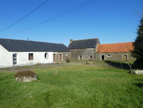 Charm for this  farmhouse and outbuildings to renovate on 2 hectares