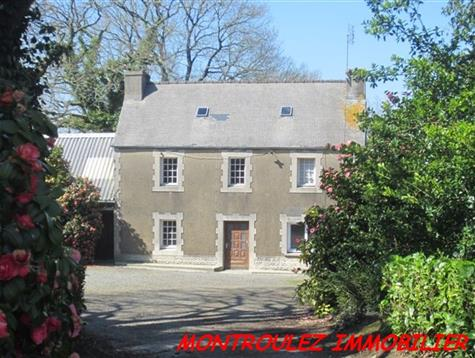 Old farm for renovation on 1 hectares and possibility to buy more land