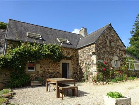 Quiet location for this farm house and outbuildings