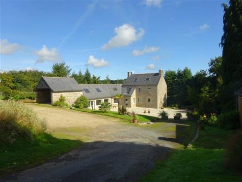 Lovely situation for this property on 3.7 hectares