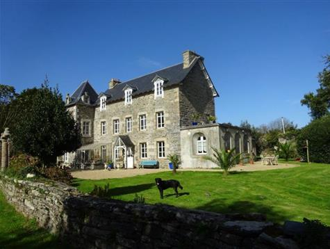At 10 mn from Morlaix, pretty property on 1.5 hectare